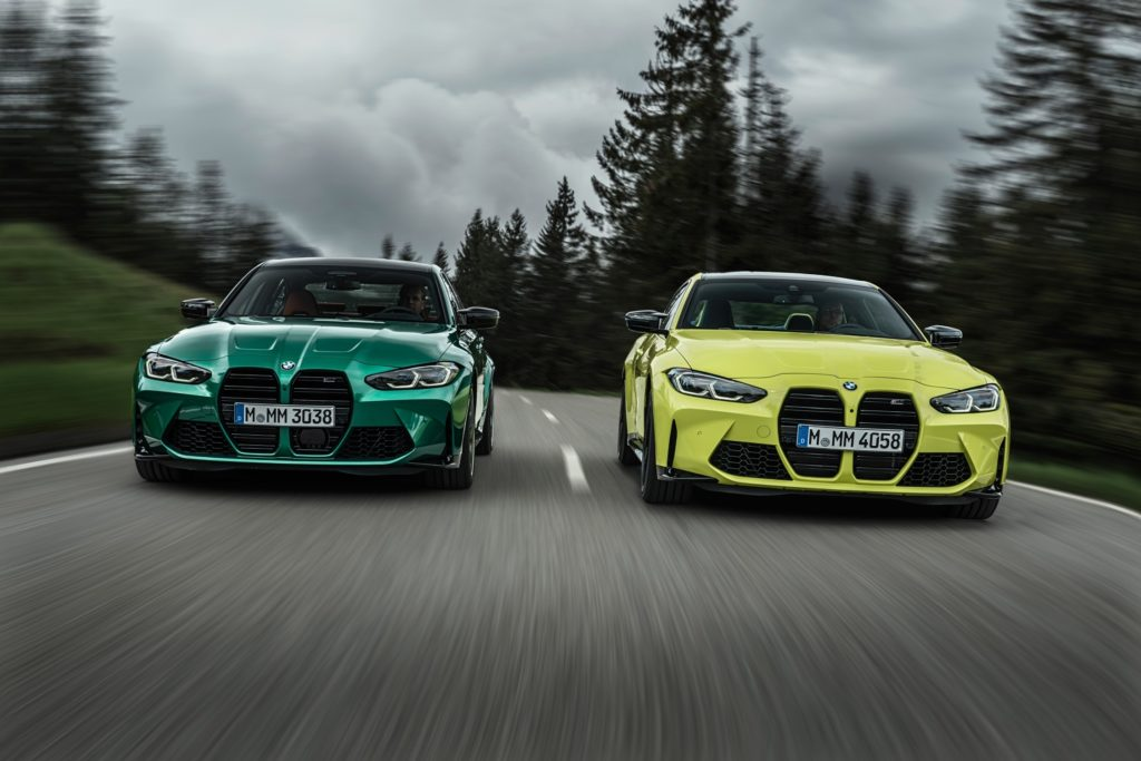 There are lots of exciting new models on the way to Ireland in 2021, including the new BMW M3 and M4!