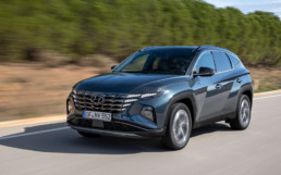 The Hyundai Tucson sold well in November