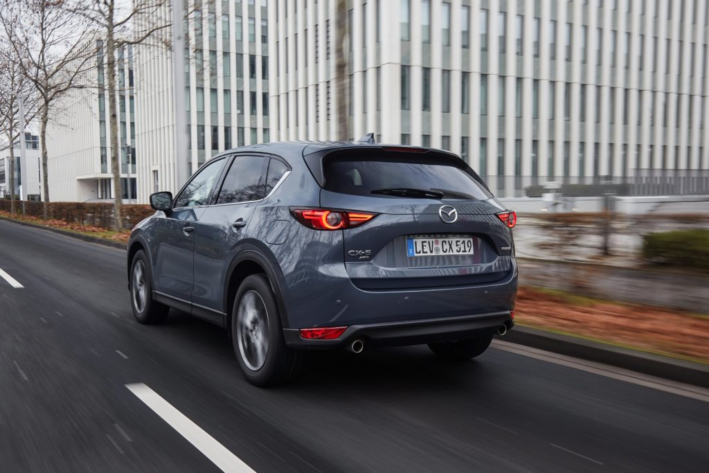 The CX-5 is Mazda's most popular model in Ireland and the world