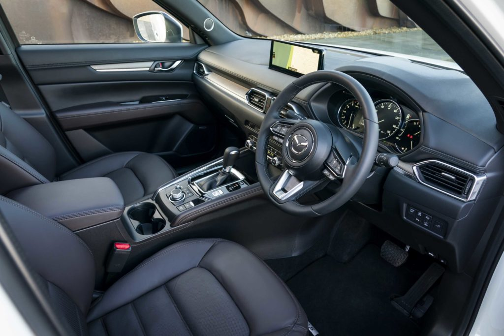 Inside the latest Mazda CX-5