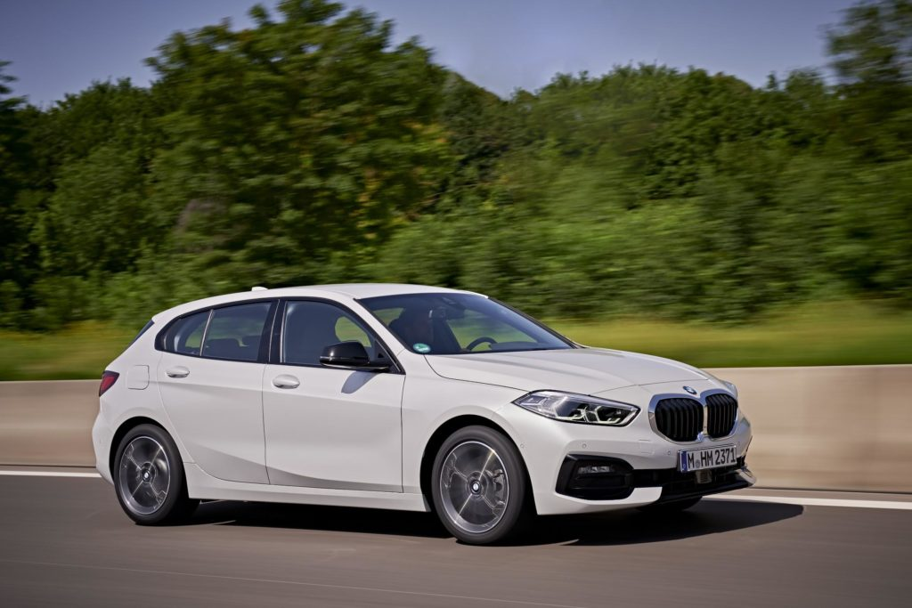 The new BMW 1 Series is on sale in Ireland in 2021 priced from €32,891