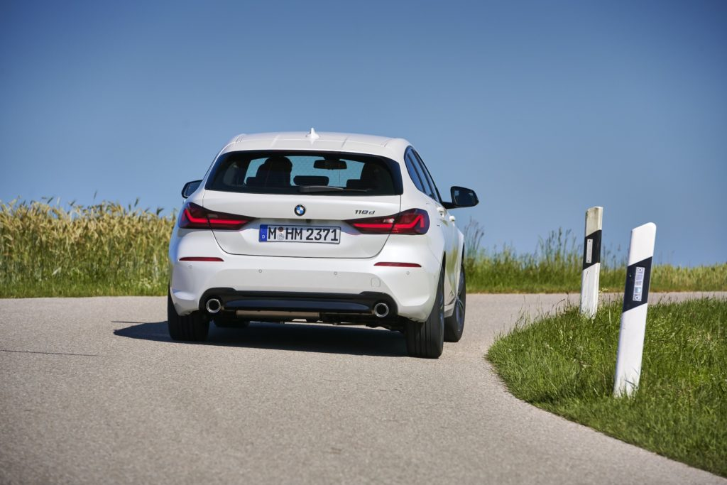 The new BMW 1 Series is available with petrol and diesel engines