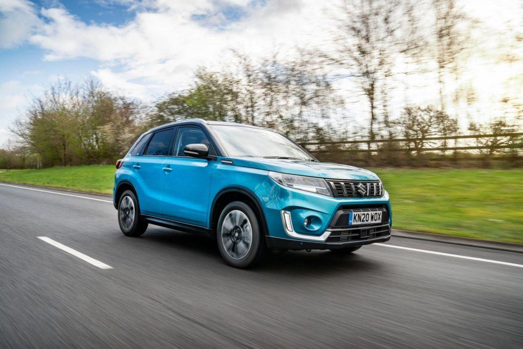Suzuki adds mild hybrid technology to the Vitara
