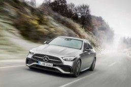 The new Mercedes-Benz C-Class will arrive in Ireland in September