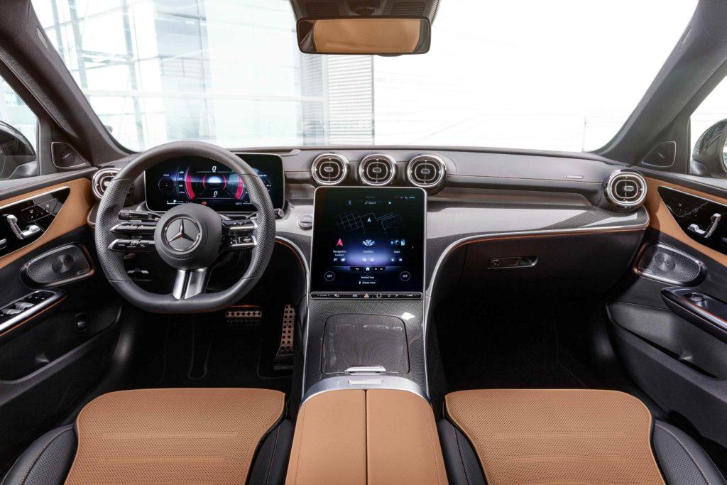 Inside the 2021 Mercedes-Benz C-Class