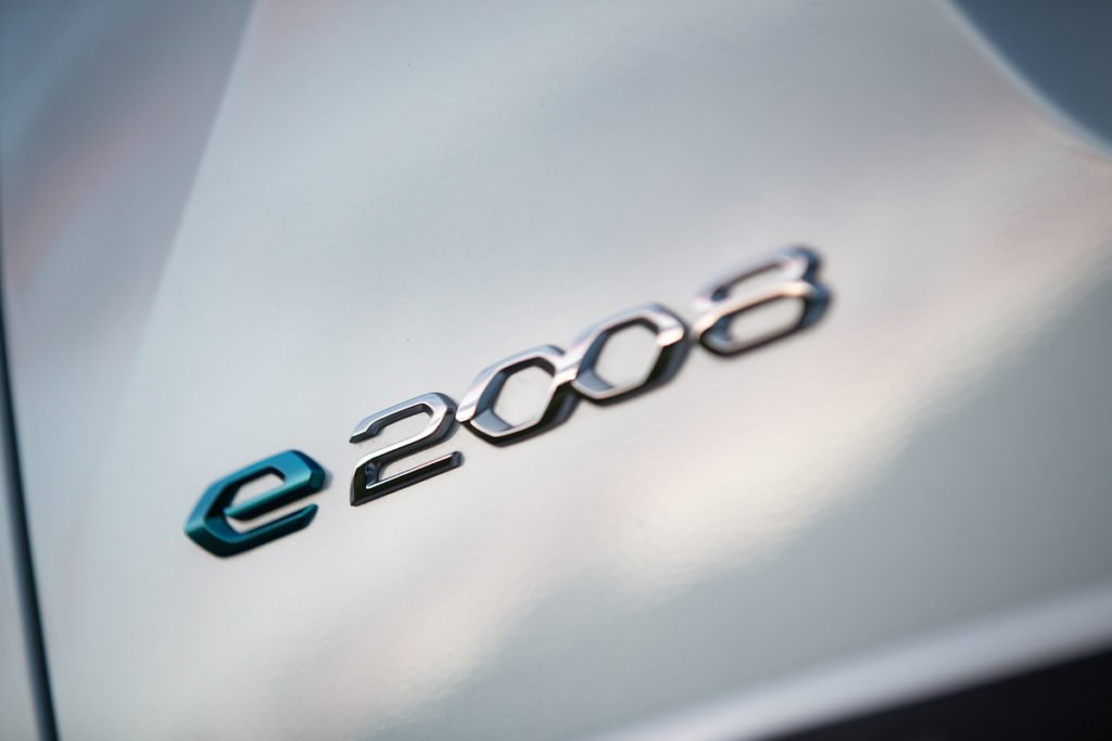 The Peugeot e-2008 can avail of 100 kW DC fast charging