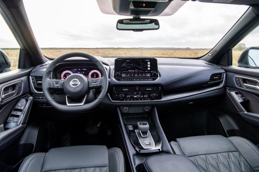 Inside the 2021 Nissan Qashqai