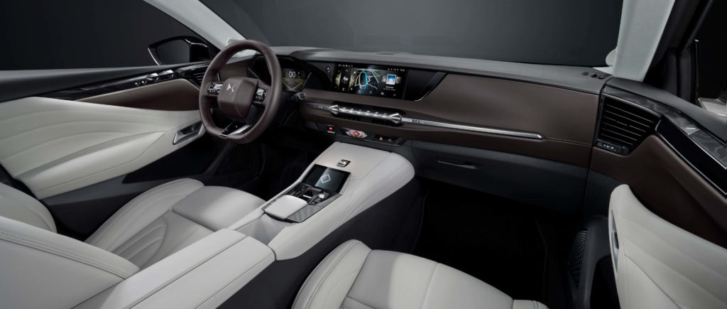 The interior of the new DS 4