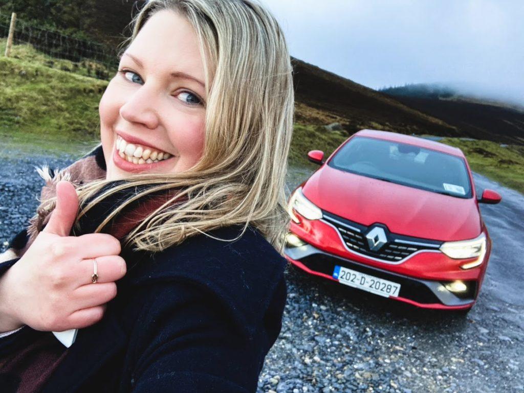 Caroline and the 2021 Renault Mégane!