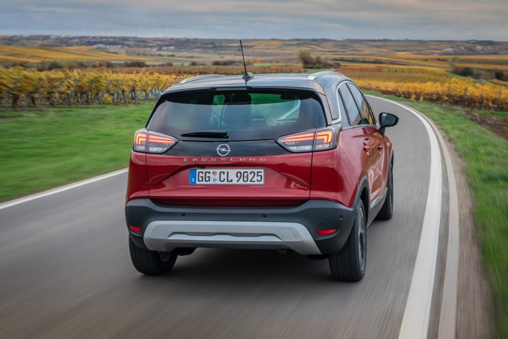 2021 Opel Crossland goes on sale priced from €22,395