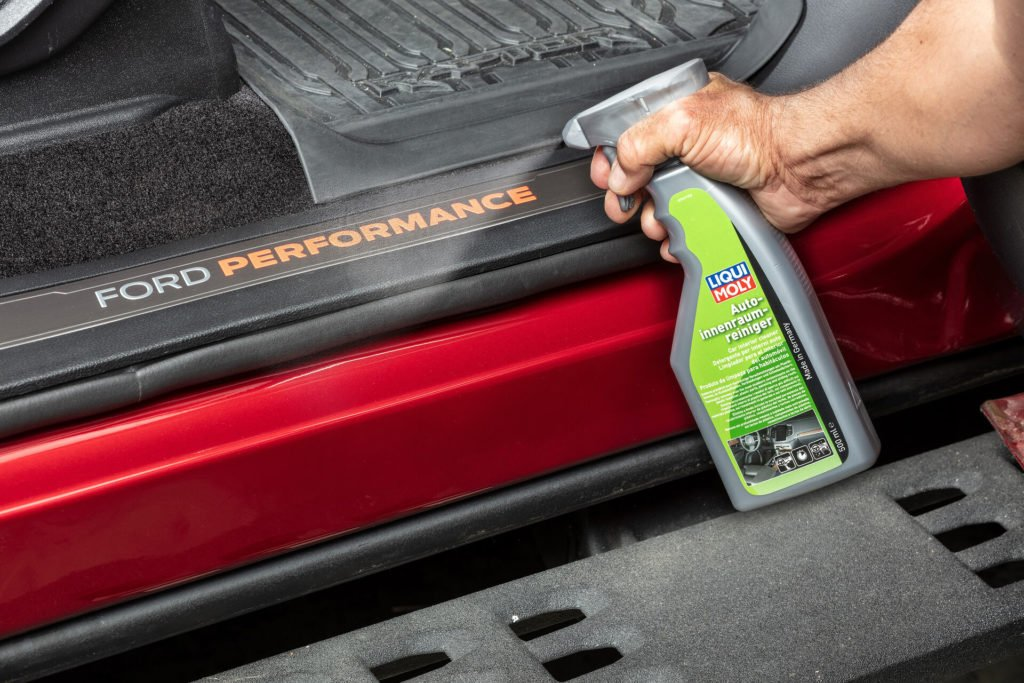 LIQUI MOLY also produces a range of car care products
