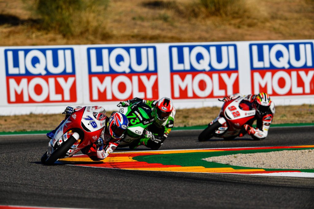 exclusive oil supplier to all teams of the Moto2 and Moto3 racing series.