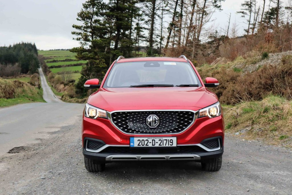 The MG ZS is the brand's first all-electric SUV to market here in 2021