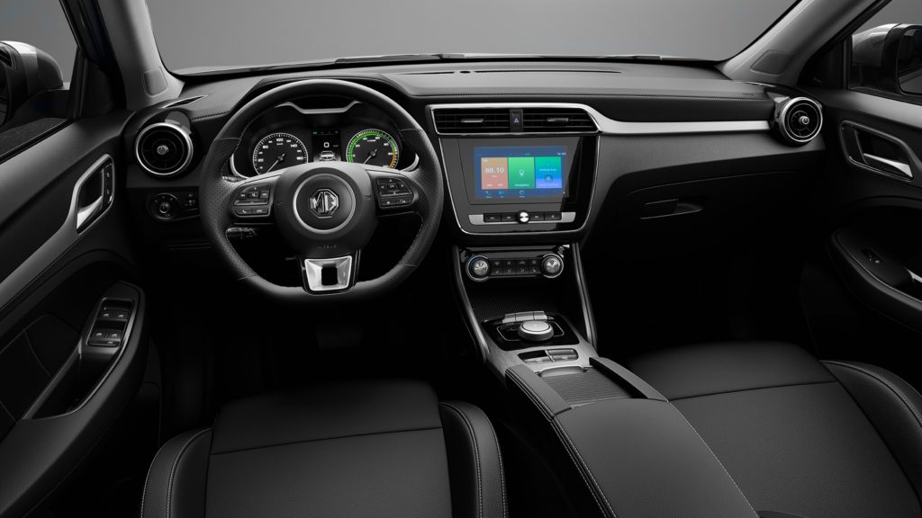 Inside the new MG ZS EV