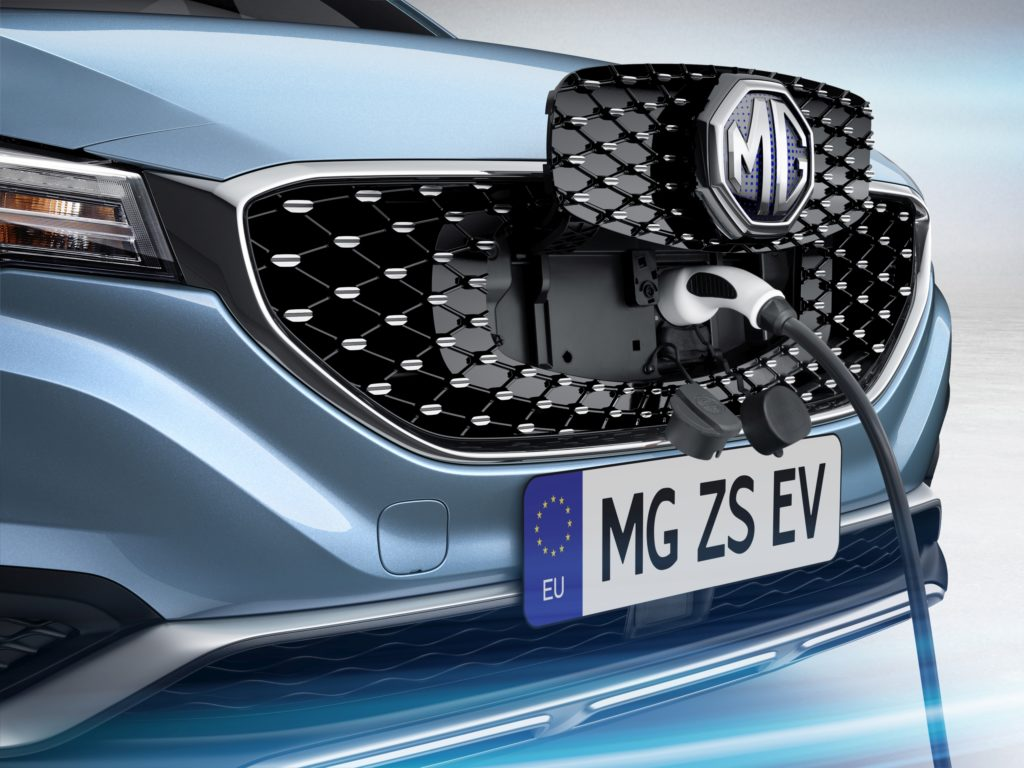 Charge the MG ZS EV at home or on the public charging network