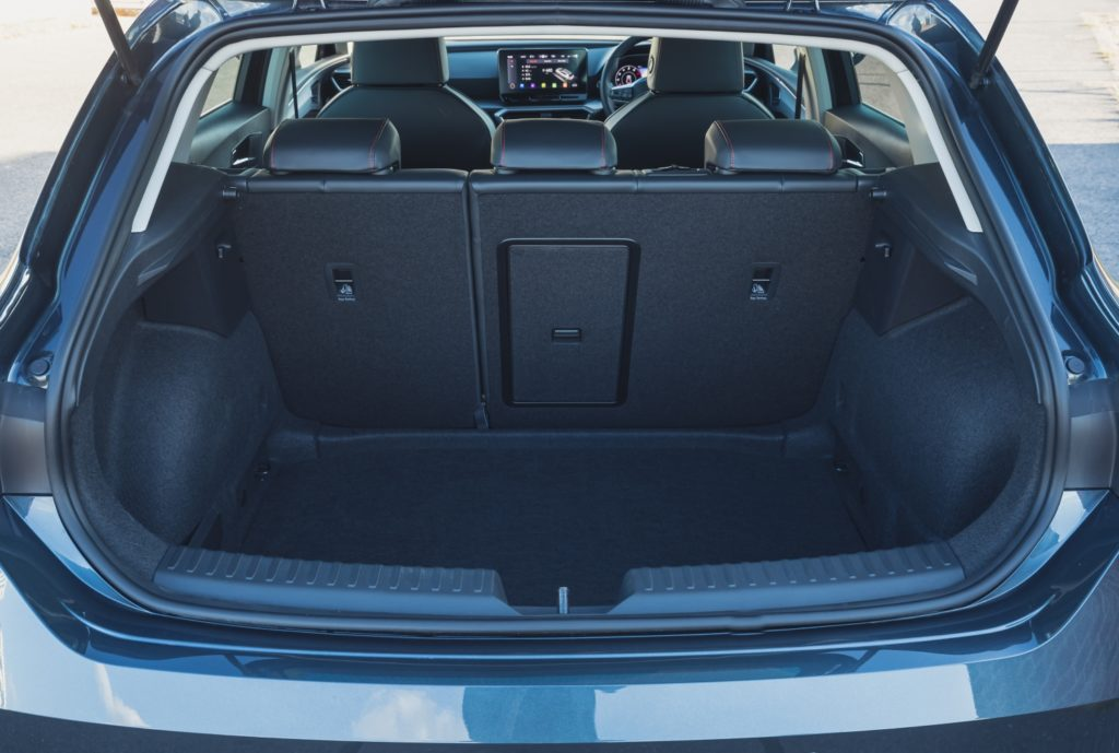 Boot space in the new SEAT Leon