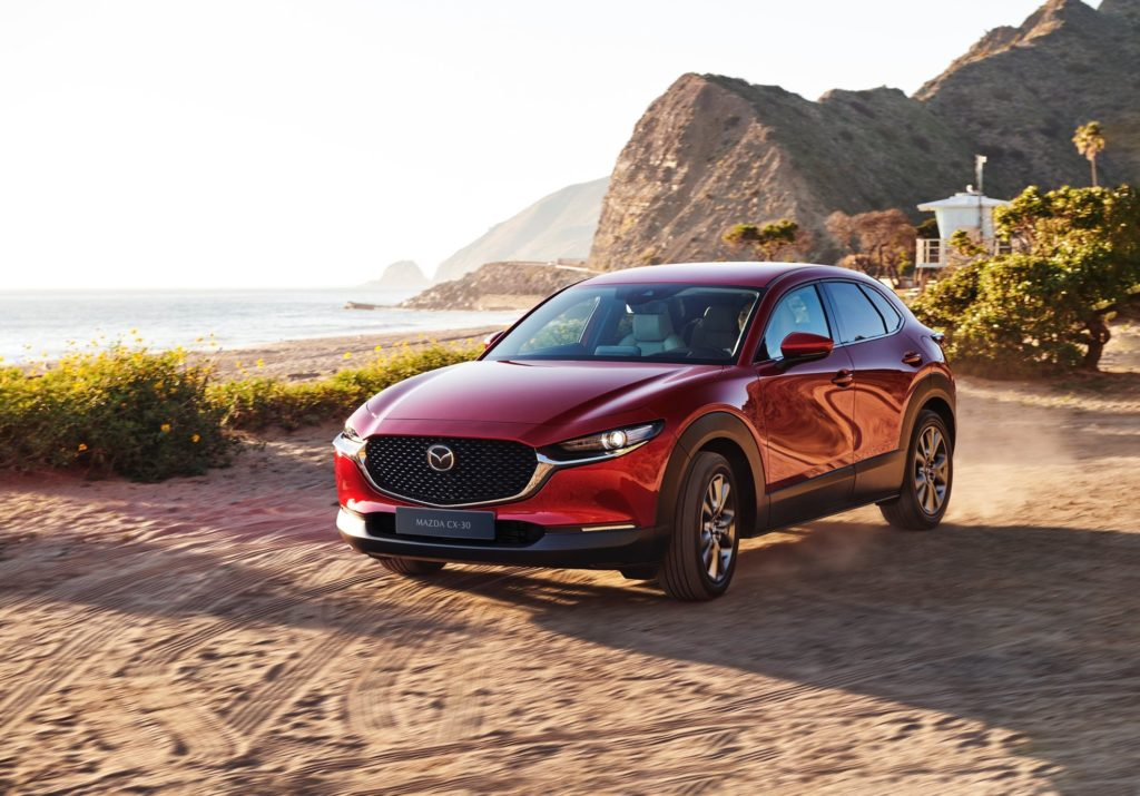 The new Mazda CX-30 e-Skyactiv-X