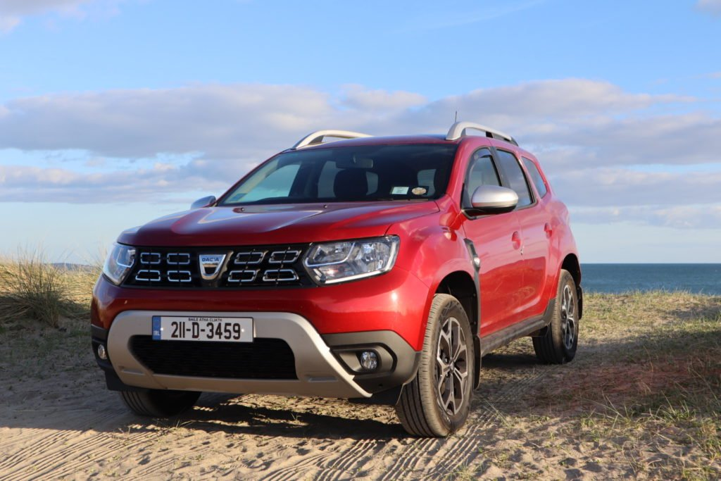 The Dacia Duster on test for Changing Lanes!