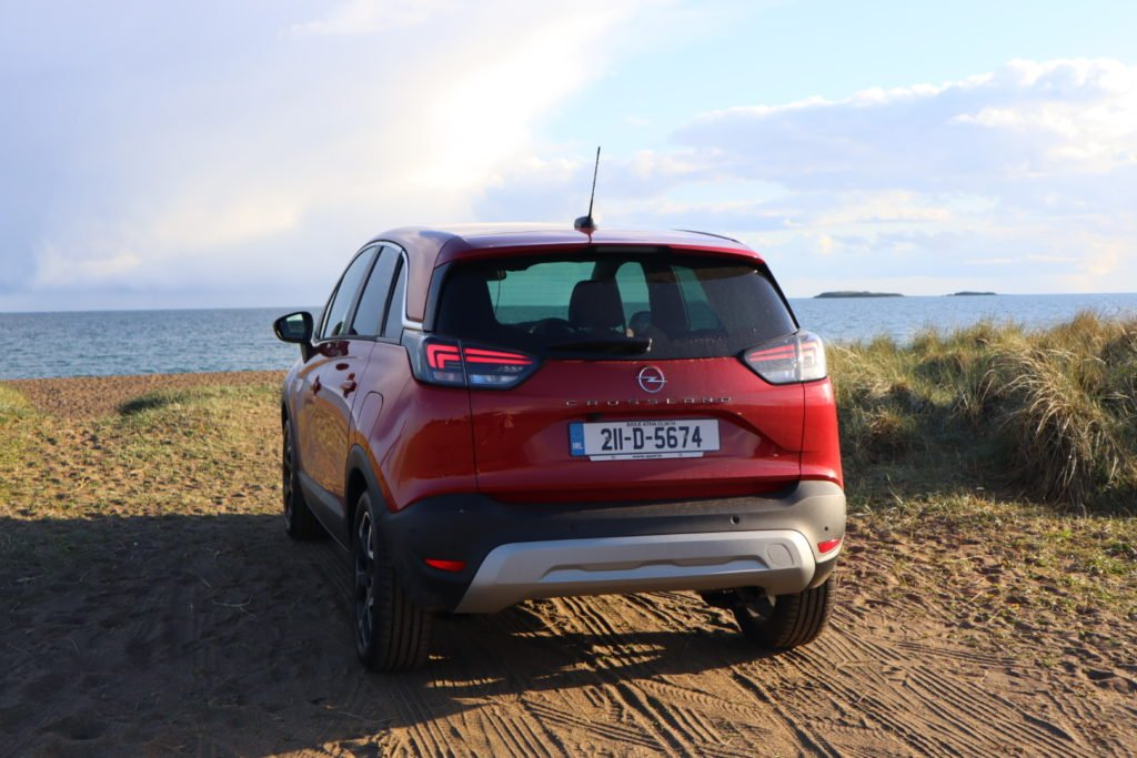The new Crossland goes on sale priced from €22,795 in Ireland