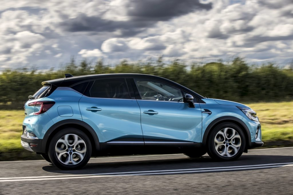 The 2021 Renault Captur now available as a plug-in hybrid