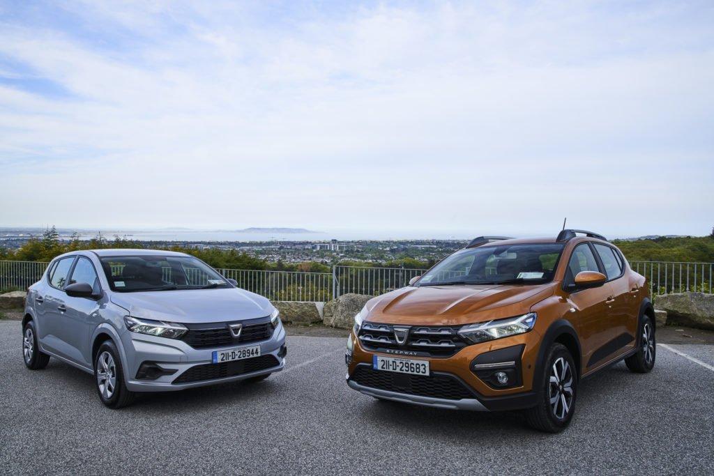 Dacia Sandero and Sandero Stepway on sale now!