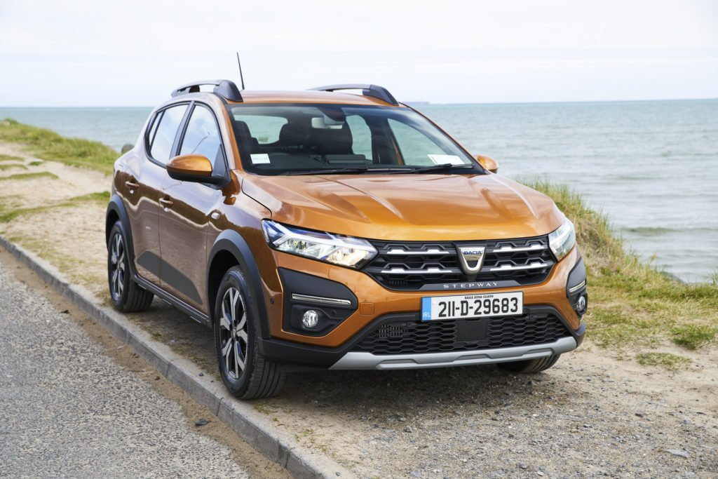 The Dacia Sandero Stepway has a more rugged crossover appearance