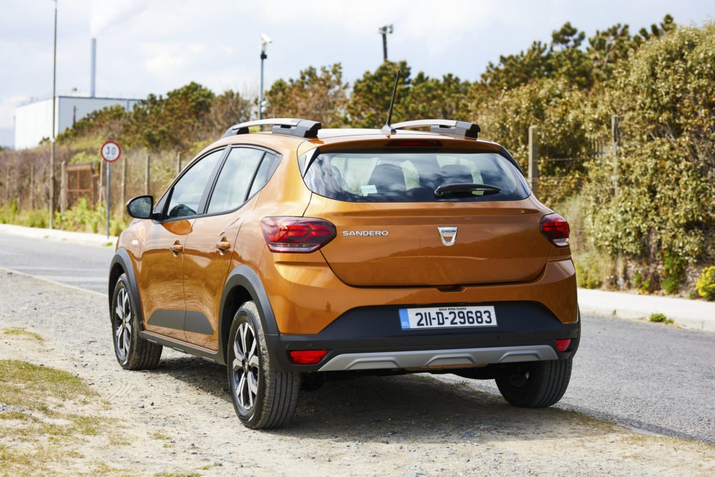 The Sandero Stepway is available from €15,990