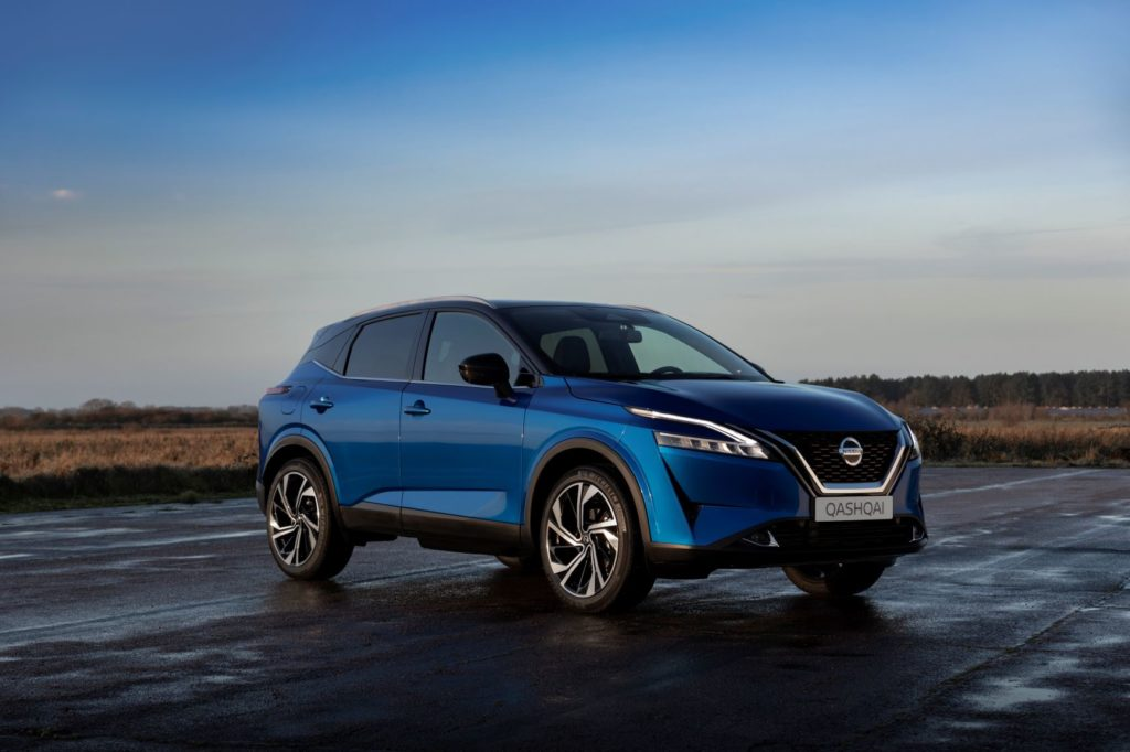 The 2021 Nissan Qashqai goes on sale in Ireland priced from €30,500