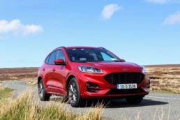 The new Ford Kuga PHEV on test for Changing Lanes!
