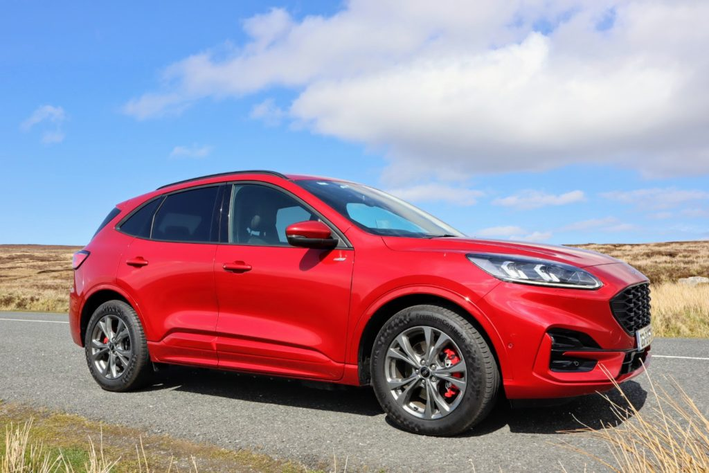 The Kuga is still great for families with a spacious and practical interior