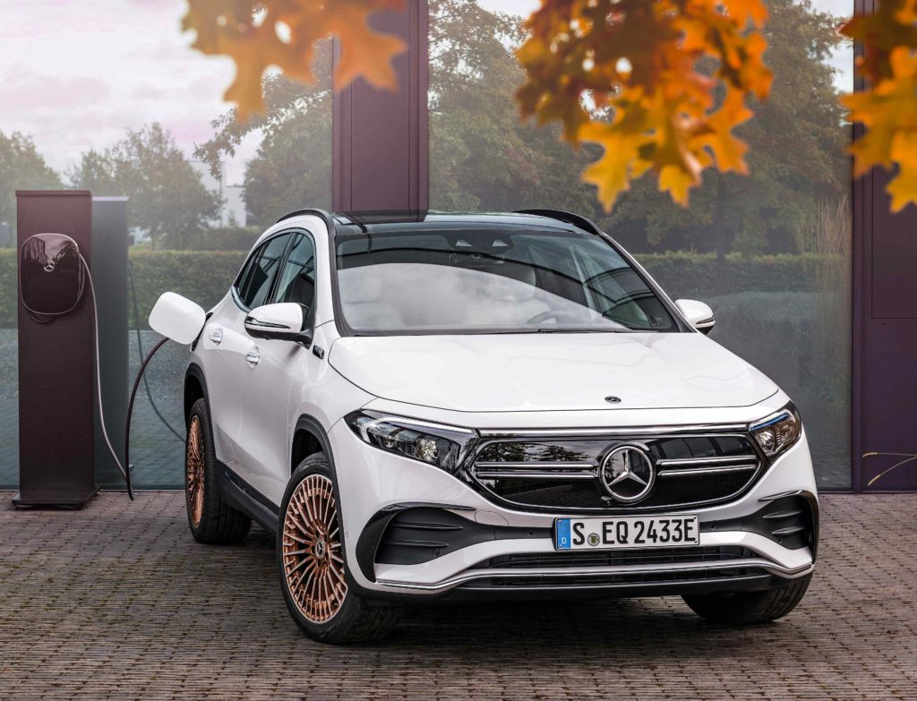The new Mercedes-Benz EQA on sale in Ireland now!