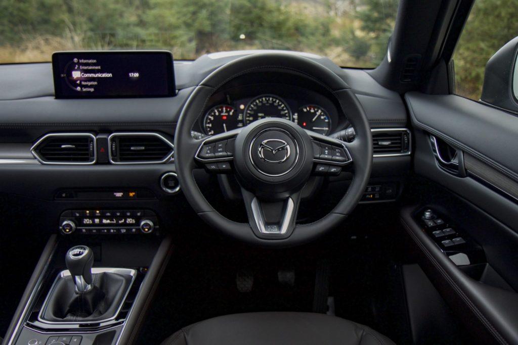 Inside the 2021 Mazda CX-5