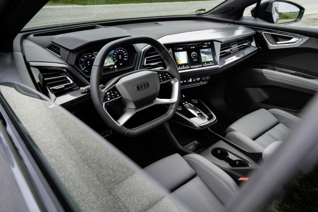 Inside the new Audi Q4 e-tron