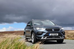 The 2021 SEAT Ateca on test for Changing Lanes!