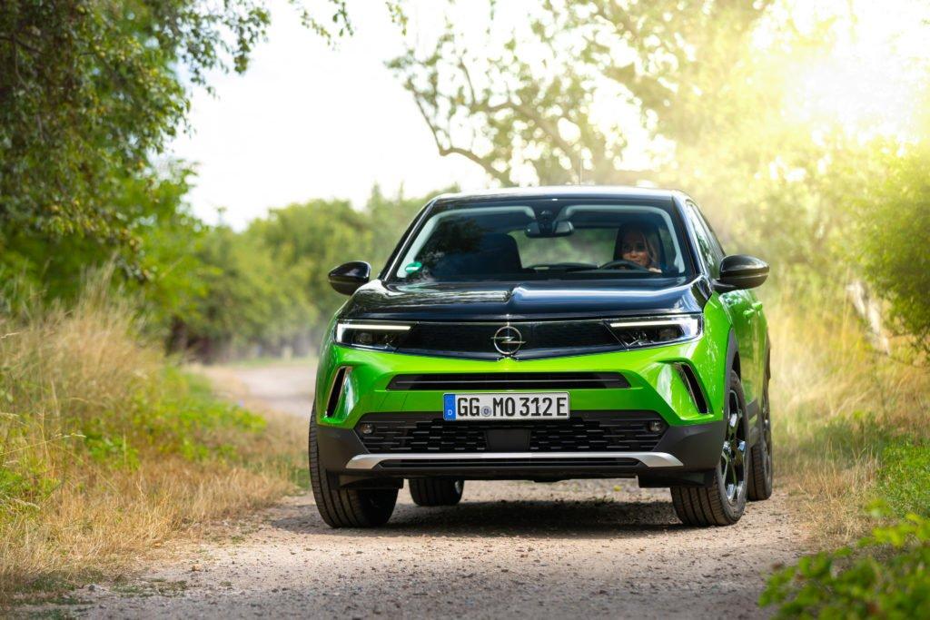 The very stylish all electric Opel Mokka-e