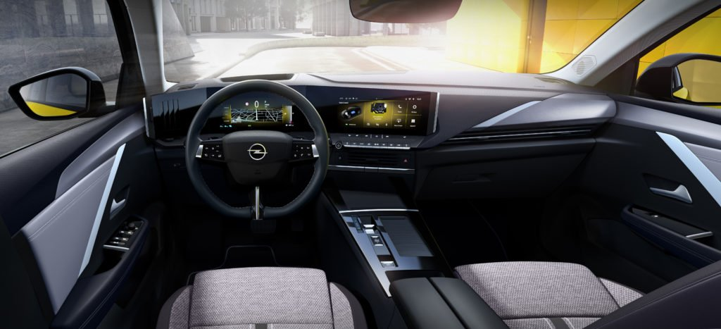 The interior of the new Astra