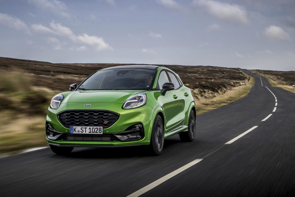 The Ford Puma ST is a worthy member of Ford's talented team of high performance ST models