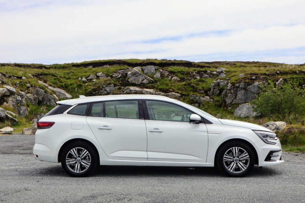 The Megane estate hybrid is a practical and efficient car