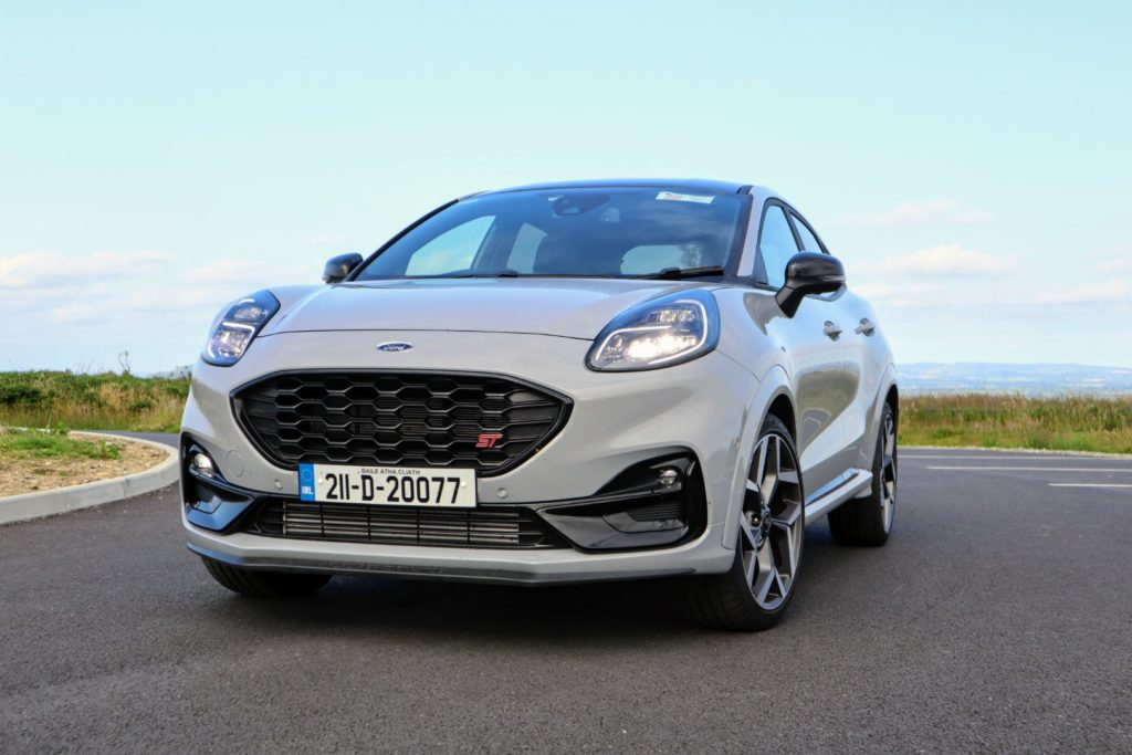 The new Ford Puma ST on test for Changing Lanes!