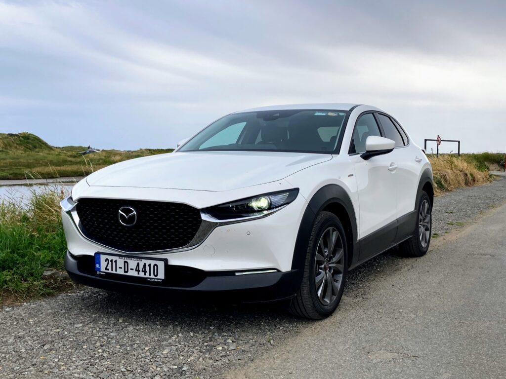 The new Mazda CX-30 100th Anniversary on test for Changing Lanes!