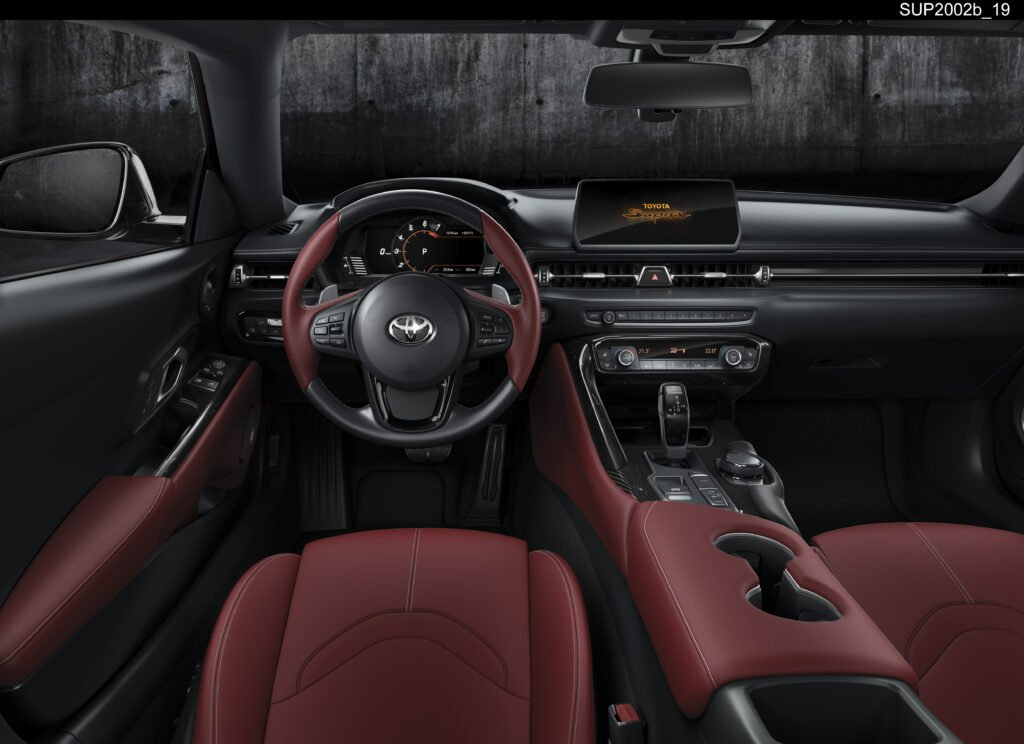 Inside the new Supra A90 Edition