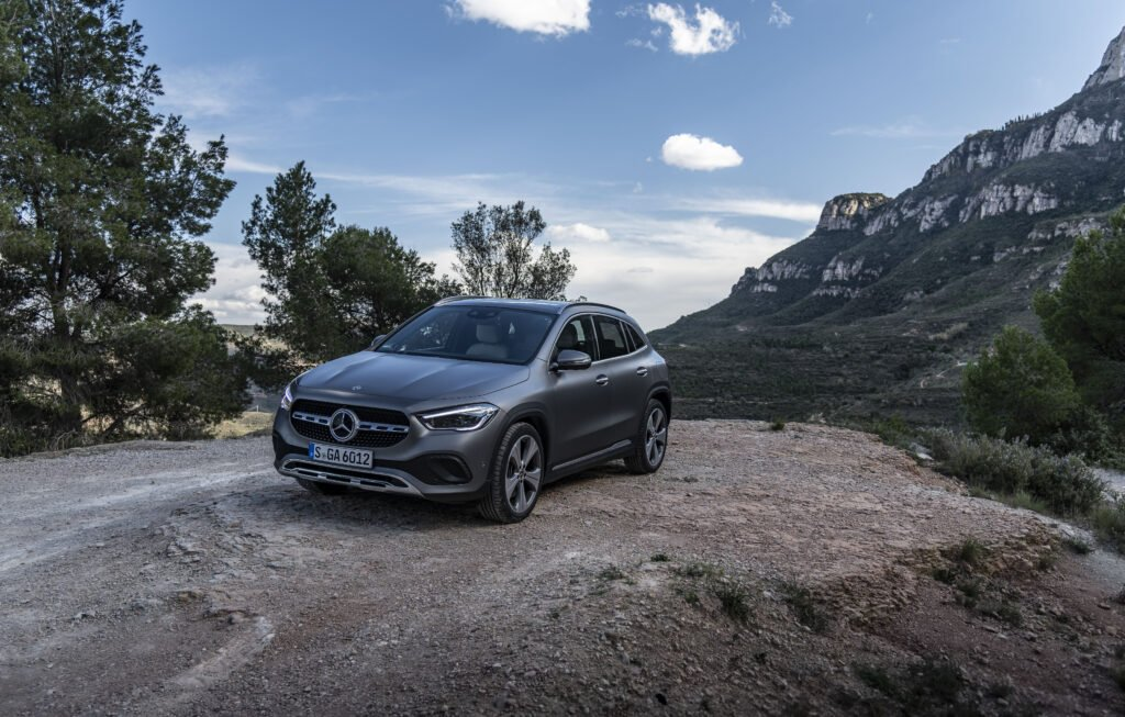 The new GLA 250 e is on sale from €48,690 in Ireland