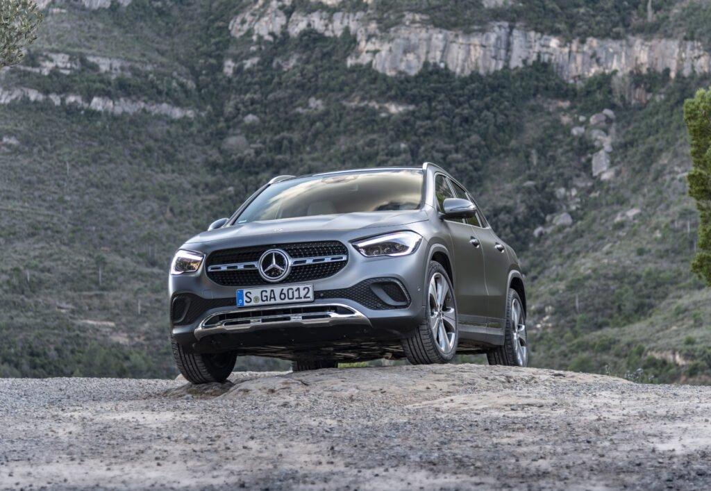 The Mercedes-Benz GLA