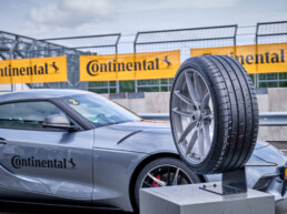 Tyre testing at the Contidrom