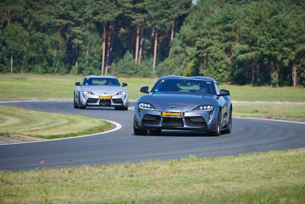 Dry handling test with the Toyota Supra
