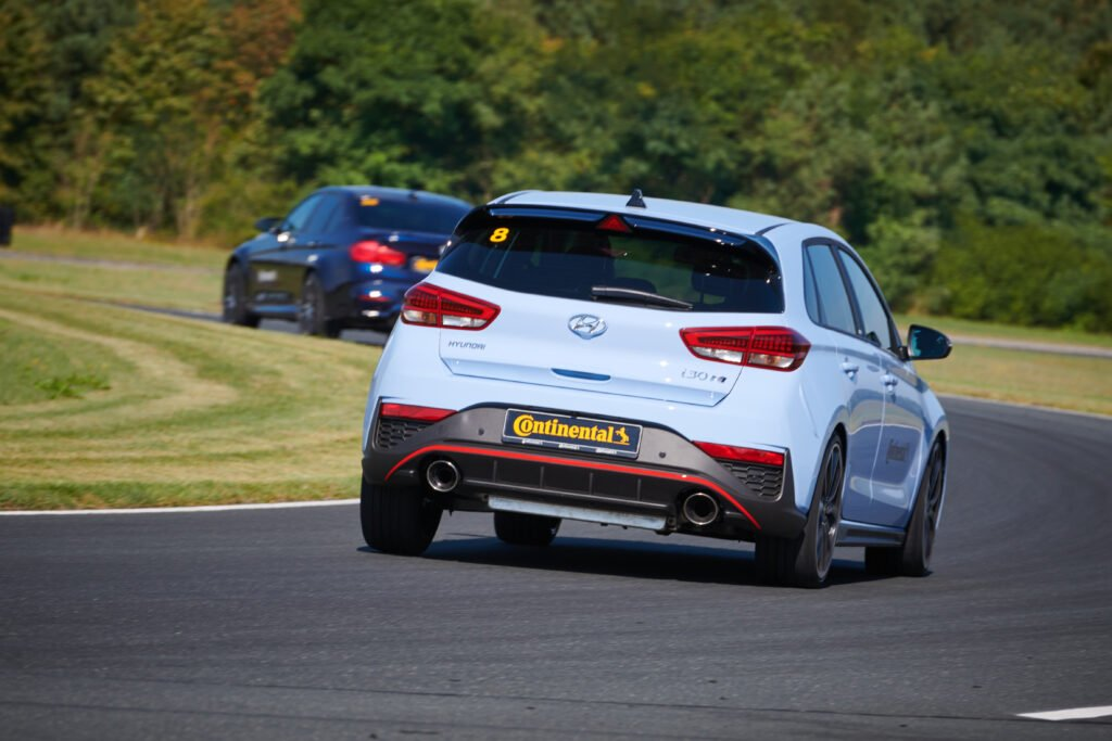 The Hyundai i30N on Continental SportContact 7
