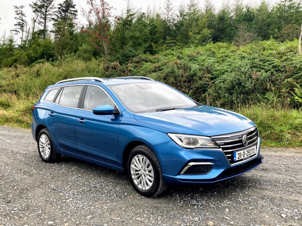 The MG5 is on sale in Ireland now priced from €27,645
