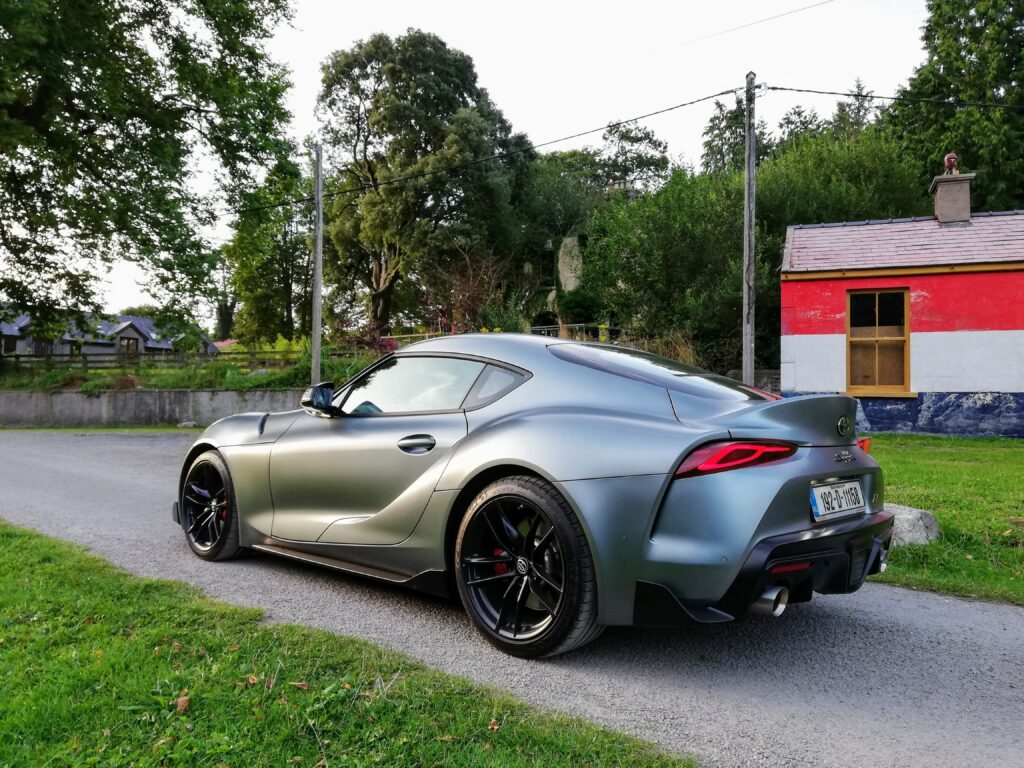 The Supra A90 special edition - only 90 were made for Europe