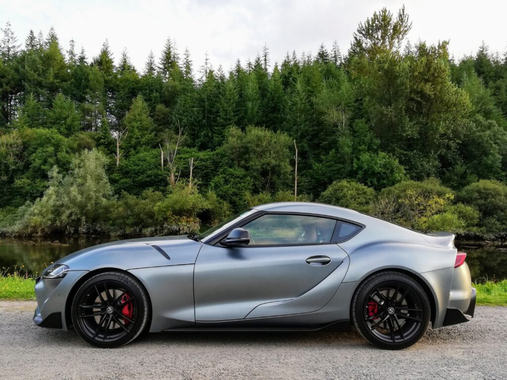 The new Supra uses a 3.0-litre straight six engine from BMW