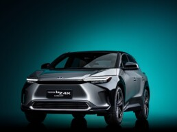 Toyota EV concept vehicle
